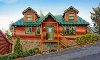 Photo for May Memorial Day dates now open! Perfect 3BR Gatlinburg Cabin, Hot Tub Theater R
