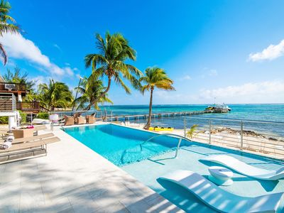 Photo for Blue Serenity: Breezy Beach House with Backyard Snorkeling