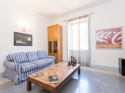 Photo for Apartment 1.2 km from the center of Rome with Air conditioning, Lift, Washing machine (9759)