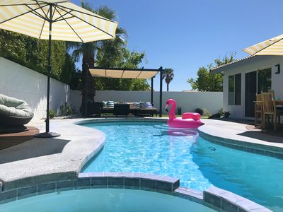 Photo for LUXURY 4Bed 3Bath Palm Springs Desert Paradise home - Entire home to yourself!