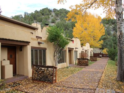Photo for Secluded Taos Mountain retreat 1/2 way between Taos and Taos Ski Valley