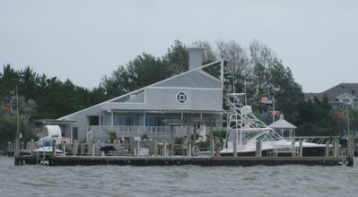Photo for Luxury,Secluded, Bayfront Estate,with Heated Pool/Dock/ Sportfishing Boat&Beach
