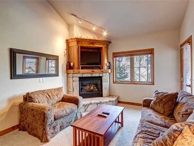 Photo for Ski-in/ski-out 2 bdrm + loft, Hot tub access, sleeps 9, Heated garage parking!