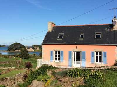 Photo for Cottage 4 persons, 250 m from the sea, Buguélès, between Paimpol and Perros-Guirec