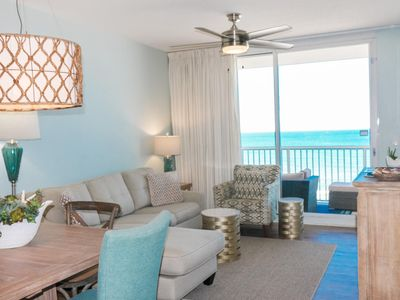 Photo for Beautiful Oceanfront Oasis ~ 3 Bed 2 Bath on 5th floor *Reserved Parking*