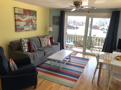 Photo for SUNNY SPACIOUS 2 BEDROOM CONDO WITH DECK & OFF STREET PARKING,