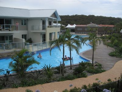 Photo for 349 'Oaks Pacific Blue' 265 Sandy Point Road - fantastic pool
