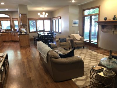 Photo for Spacious, Cozy Home for Family and Friends