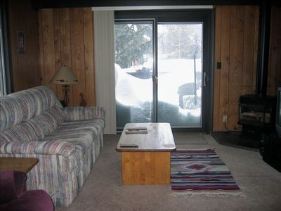 Front Living Area, Fold-out Bed/Couch, Balcony, Entertainment Center