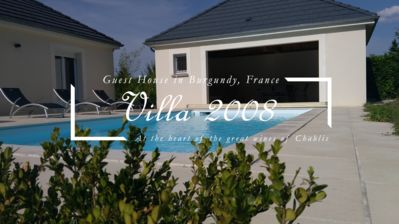 Photo for Furnished with Pool 2 minutes from Chablis