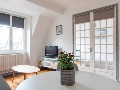 Photo for Superb appt T2 hyper-bright located in the heart of the corsair city of Saint -Malo