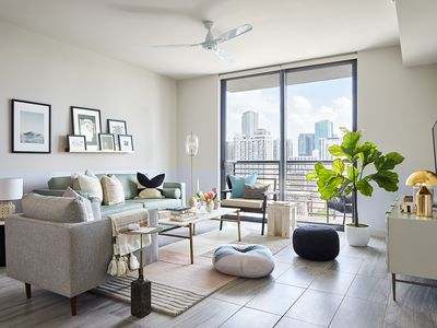 Photo for Domio Downtown Miami | Bay View Corner Two Bedroom | Balcony + Gym + Pool