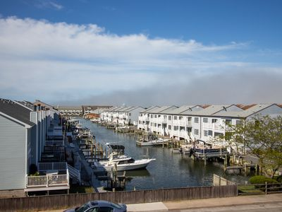 Photo for Cozy condo w/ water view & shared pool - close to Splash Mountain & Jolly Roger