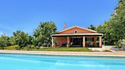 Photo for Villa with huge pool and nice garden