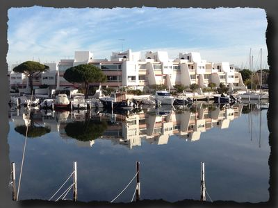 Photo for Marina for 6 persons 60m2 in Port Camargue, near southern beaches