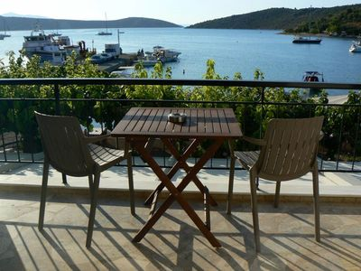 Photo for Mermaid Studios - Apartment 2 ...by the sea with fantastic view to vivari gulf