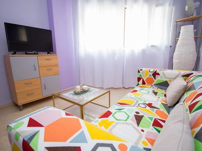 Photo for Central Colorful Flat with Parking (C5)