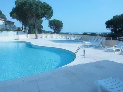Photo for WALKING DISTANCE TO TOWN & BEACH, 1 BED APT, PRIVATE LARGE GARDEN, SHARED POOLS