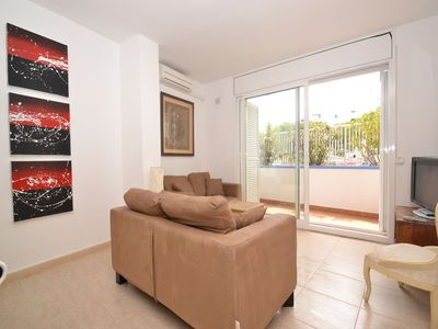 Photo for Sitges Central apartment , 3 bedrooms, 2 bathrooms , close to beach and shops