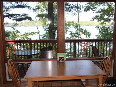 Photo for Couple's Getaway - Clean, Comfortable, Private Cottage on Pristine Lake of Bays
