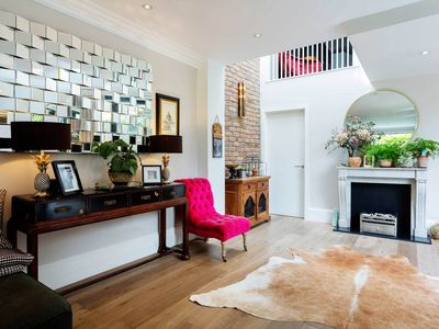 Photo for Superb 5BR with terrace and garden near Shoreditch, 25min Liverpool St, by Veeve