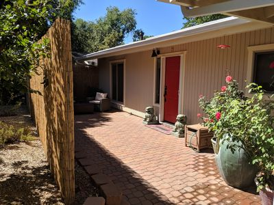 Photo for CENTRALLY LOCATED  WITH HOT TUB: Zen Garden - Your Sedona Oasis Awaits