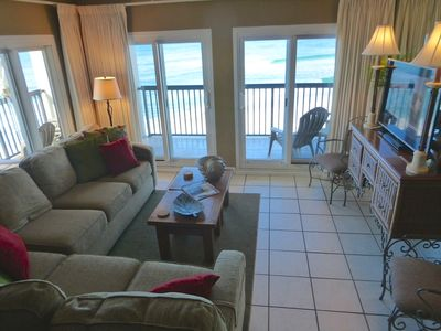Photo for Beachfront Condo with Spectacular View and WiFi - Vacation in Style!