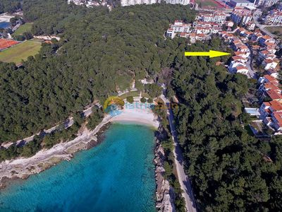 Photo for Apartment 758/1766 (Istria - Pula), Beach front accommodation, 100m from the beach