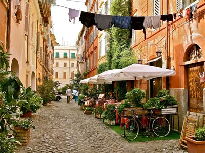 Photo for Trastevere, 17% OFF Dicember, lovely place in the heart of Rome