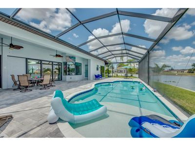 Photo for Spectacular Visual Scenery, Freshwater Lake- Villa Lake Kennedy - Cape Coral, Fl