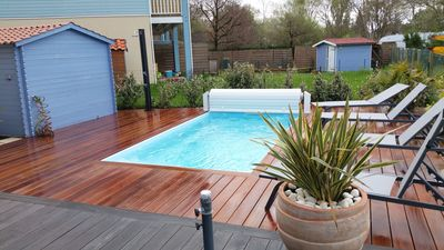 Photo for house of Arcachon basin with private pool 6 persons