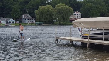 Oasis on Murray Lake, minutes from Grand Rapids, MI; excellent fishing & boating