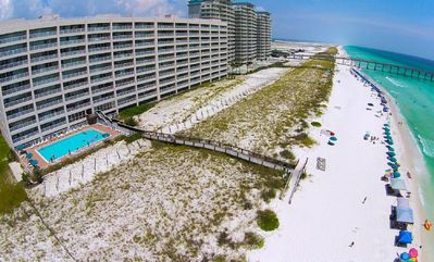 Photo for August Available! GULF FRONT VIEWS! POOL! Sleeps 8. SPACIOUS 2 bed/2 bath