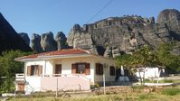 Beautiful, secluded, and simple home at the base of meteora.