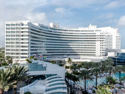 Photo for Fontainebleau Hotel Stunning Jr. Suite-Ocean & Pool Views! Free Spa & Valet!