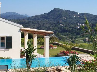 Photo for Villa Callisto Infinity pool and private gardens..Now  booking 2020