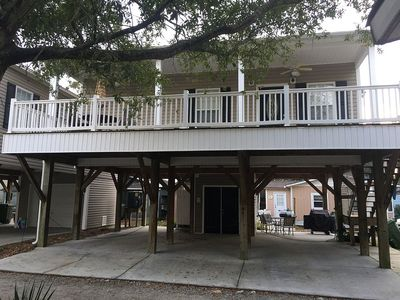 Photo for M-41 Sleeps 7, King Bed, Great Location,  Golf Cart