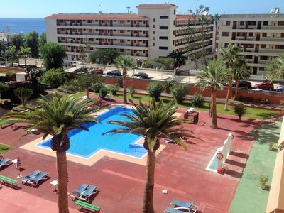 Photo for CENTRAL! AMAZING POOL & SEA VIEW! WI-FI, UKTV & PRIVATE PARKING! 100 M. BEACH!!