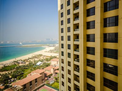 Photo for Wondrous 3 Bed Apartment in JBR with Sea View