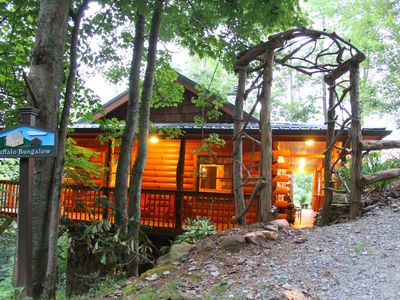 Photo for Buffalo Bungalow..Couples Only: sauna, massage table & much more!!