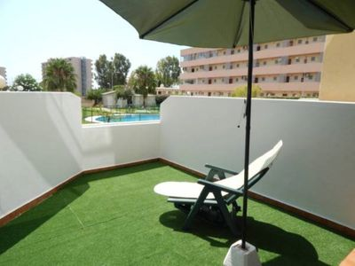 Photo for 1 bedroom Apartment only 3 mins walk from La Carihuela beach & Puerto Marina