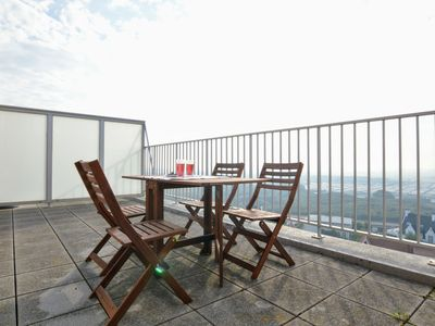 Photo for Cosy Apartment in Westende with Terrace and Deckchairs