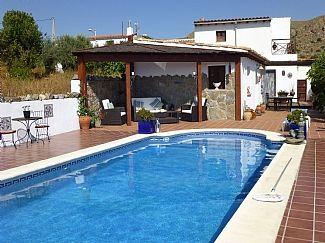 Self Contained Farmhouse Accommodation With Private Pool and Stunning Views