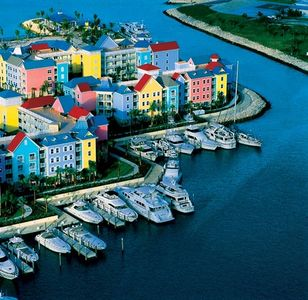 Harborside Atlantis sits on Harbor and Yacht basin