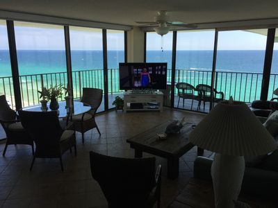 Photo for Gorgeous 2BR/2BA End Unit With Stunning Views, Free WiFi and Beach Chair Service