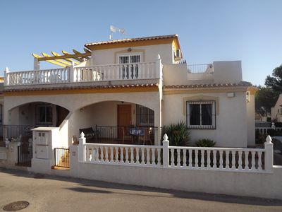 Photo for Ideally Placed Four Bedroom, Two Bathroom Quad House In Villamartin