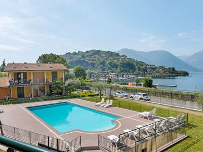 Photo for Mountain-view Apartment in Sulzano with Swimming Pool