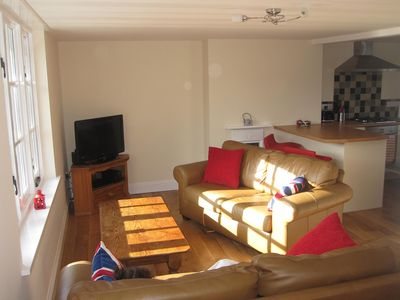 Photo for Beer Holiday Maisonette with Parking and Balcony, Near to Beach, shops and Pubs