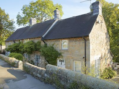 Photo for In a sought after riverside location in the Peak District village of Baslow is Bridge Foot Cottage,