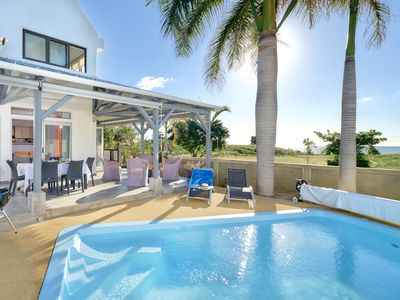 Photo for WEST COAST - Albion - Oceanfront Blue Ocean Villa with Private Pool